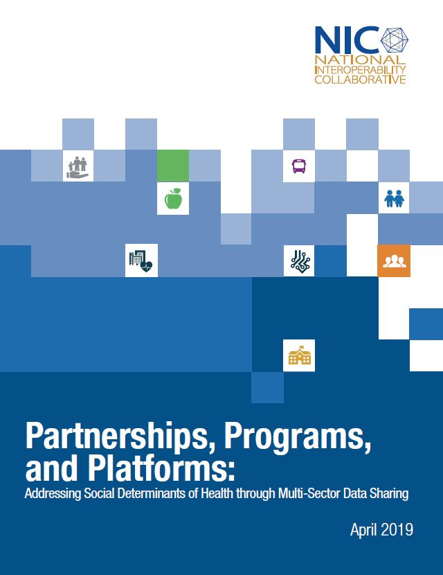 Partnerships, Programs, and Platforms: Addressing Social Determinants of Health through Multi-Sector Data Sharing